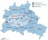 Standort Gatow durch Herzchen markiert - Bild 25: XXL Apartment Berlin *Wohnen auf Zeit* WLAN, Hund ok, Langzeitmiete