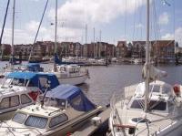 - der Yachthafen - - Bild 10: Ferienwohnung im >Lord Nelson< in Cuxhaven-Döse ****