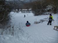 """Rodeln, Ski-Langlauf, Alpin Ski und Eislauf kann man in der näheren Umgebung. - Bild 16: Ferienwohnung """"Haus Nagelschmidt"""" Region Neumarkt Oberpfalz-Amberg-Nürnberg"""