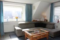 Wohnraum mit Schlafsofa - Bild 1: Sylt - Westerland Ferienwohnung mit Internet / Wlan im 1. OG. Whg.4