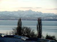 Winterbild zum Säntis - Bild 25: Ferienwohnung Fam. Sauer - mit herrlichem See- und Alpenblick -