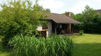 """... mit überdachter Terrasse und Zugang zur Wiese. - Bild 10: Ferienhaus """"Otto"""" in Garding auf Eiderstedt (4 Sterne)"""