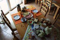 """Frühstück (auf Wunsch für 4,50 € p.P.) - Bild 10: FeWo """"Landhaus Kolbe"""" (Whg. 1) an der ostfriesischen Nordseeküste"""