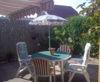 Markise,Gartenmöbel,Sonnenschirm und Grill. - Bild 13: Genießen Sie die Ruhe und das Meer. Ferienwohnung 45qm 2Pers. und Kleinkind