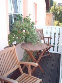 Bild 7: Balkonzimmer *** / Pension Villa Erika * im Seebad Lubmin * Ostsee