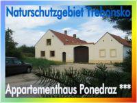 Bild 1: Appartementhaus Ponedraz * * * mit Pool für 21 Personen in Südböhmen