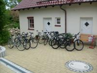 """Leihräder Trekking und Mounten Bike 26 und 28 Ramenhöhen - Bild 7: Ferienwohnung """"Am Jakobusweg"""" in Bamberg Appartement 3"""