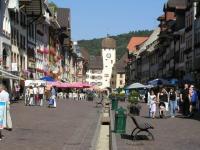 Gemütliches Bummeln auf der Kaiserstraße in Waldshut - Bild 7: 3* FEWO im Neubau zw. Südschwarzwald, Hochrhein, Hegau, Bodensee u. Schweiz