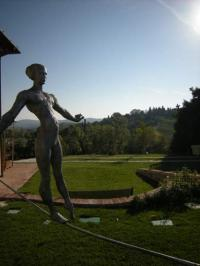 "privater Künstlergarten ""I Giardini Informali"" - Bild 7: Agriturismo San Giusto nahe Florenz und Pisa"