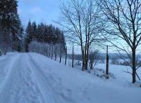 vor dem Haus beginnen die Ski und Wanderwege - Bild 13: Ferienhaus Familie Ziller Crottendorf Erzgebirge