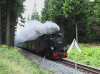 eine Fahrt mit der Fichtelbergbahn nach Oberwiesenthal - Bild 10: Ferienhaus Familie Ziller Crottendorf Erzgebirge