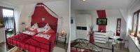 mit TV, Sitzecke und direkten Zugang zum Balkon. - Bild 4: Stilvolles Reetdachhaus a. d. Nordsee mit Hund, Alleinlage,Wlan, Sauna