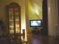 """Gemütlichkeit am Abend. TV mit Stereoanlage - Bild 10: exklusiv Wohnen in Berlin-Mitte/Tiergarten im """"Blueberry Hill"""""""