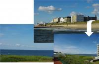 Bild 1: Allergikerfreundliches *** App. auf Borkum mit Balkon und Meerblick!