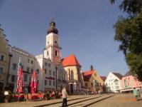 Besuchen Sie die Kreisstadt Cham. - Bild 16: AWM-Ferienhaus im Bayerischen Wald, gemütliches Holzblockhaus mit Kaminofen