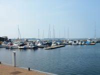 Yachthafen Wiek ca. 500 m - Bild 16: Insel Rügen EG Ferienwohnung am Wieker Bodden ca. 500 m zum Wasser