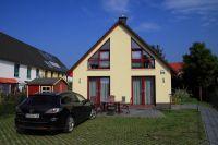 Stellplatz für 2 PKW vor dem Haus - Bild 1: Kinder- u. hundefeundliches Ferienhaus in Binz, hell u. modern, mit Garten