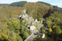 Die Ober- und Unterburg zu Manderscheid liegen wunderschön in den Wäldern der Vulkaneifel, direkt am berühmten Lieser-Pfad. - Bild 10: Eifel-Mosel ***Ferienwohnung Alte Schmiede II