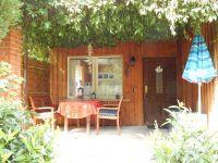 Unsere gemütliche Frühstücksterrasse. - Bild 4: Ferienhaus im Grünen für 2 - und 4 - beiner