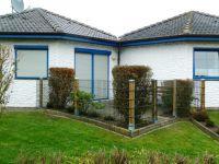 Bild 1: Ferienhaus Strolchi, Achteckreihenbungalow mit Hund erlaubt