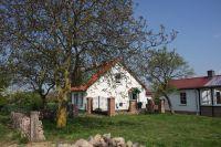 Blick auf Haus und Saunahaus - Bild 25: Ferienhaus Beestland am Rande der Mecklenburgischen Schweiz für 6 Personen
