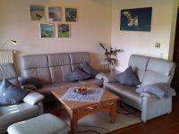 Komfortabler und gemütlicher Wohnbereich - Bild 1: Heini's Huus 1 - Ferien mit Hund an der Nordsee