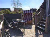 """Auf der schönen Dachterrasse können Sie den Alltagsstress ablegen und die Ruhe genießen. - Bild 1: Ferienwohnung """"Inseltraum"""" 2-4 Pers. (beide Wohnungen für bis zu 7 Pers.)"""