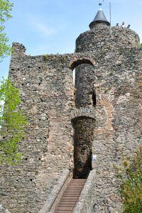 Burgruine in Saarburg ca. 4 km entfernt - Bild 13: Ferienwohnungen Ute Reinert - FeWo 1 (60 m²)