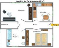 Bild 1: Ferienwohnungen Ute Reinert - FeWo 1 (60 m²)