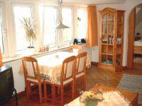 Die Wohnung Seeblick bietet einen tollen Blick auf die Nordsee - Bild 4: Ferienhaus Seeblick im Nordsee-Bad Dangast direkt beim Strand mit Hund