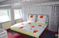 1 Doppelbett, 1 Kinderbettchen u. 1 extra Bett hinter der Gardiene - Bild 13: 4* Villa Holliday-230qm-Traumhaus-Garten, Sauna,Pool,Alleinnutzung