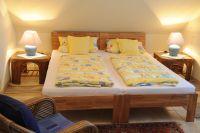 2 zusammenstehende Einzelbetten - Bild 7: Ferienwohnung Gutshof 13, Urlaub auf gehobenem Niveau in Sildemow