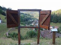 Das Spiel mit der Installation - Fenster - bietet ihnen ganz neue Perspektiven der Sichtweise - Bild 13: Exclusive Studio- Ferienwohnung im Schwarzwald - Hund incl.
