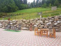 - ihr Platz an der Sonne - neben sich die Skulptur - Sonnenanbeterin - - Bild 1: Exclusive Studio- Ferienwohnung im Schwarzwald - Hund incl.