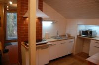 unsere offene Küche - Bild 4: Ferienhaus am südöstlichem Stadtrand von Berlin in Woltersdorf Schleuse