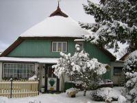 Auch im Winter ein gemütlicher Anblick. (Bild ist älter). - Bild 13: Hundefreundliches Ferienhaus im schönen Ostseebad Prerow