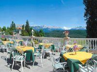 genießen Sie den einmaligen Blick von der Panoramaterrasse und das hervorragende Essen! - Bild 10: entzückendes Domizil mit eigenem eingezäunem Garten in Südtirol