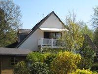 Aussenansicht von Wohnung mit Balkon - Bild 1: Ferienwohnung BINNEN mit Gartenbereich,Balkon und Sauna