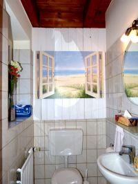 kleines, aber feines Gäste-WC im Erdgeschoss - Bild 4: Heini's Huus 2 - Ferien mit Hund an der Nordsee