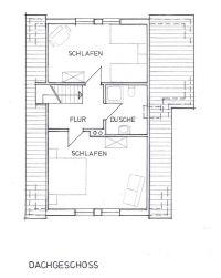Zur Orientierung, hier ein detaillierter Grundriss der 1. Etage. - Bild 16: mitten in d. Natur, modern,ruhiges Haus für 6 Pers. rollstuhlgerecht