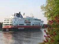 Ein Schiff der Hurtigrute - Bild 1: Ferienwohnung am NOK