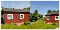 Gepflegtes Holzhäuschen mit kleiner Terrasse zum entspannen, ob beim Lesen oder Grillen. - Bild 1: Haus-Mara auf der Insel Rügen