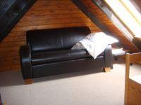 Sofa auf der Galerie - Bild 13: Fewo Hoogen im Nordseeheilbad Friedrichskoog-Spitze. 150 m bis zum Strand.
