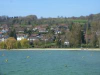 Haus am Rebberg vom Strand aus - Bild 13: Traumhafte Bodensee Ferienwohnung - Wilhelmina Hangarter