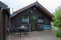 Bild 7: Gemütliches Holzhaus Eder Refugium mit Kamin und Zugang zur Eder