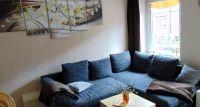 Wohnzimmer neu rnoviert, neue Schlafcouch , Liegefläche 175x200 - Bild 4: Ferienwohnung BAUER Thale / Harz