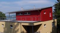 Das Haus von hinten. View from the south side. - Bild 7: Ferienwohnung Unterseeblick
