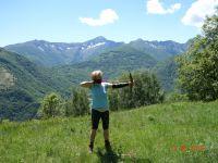 Vor dieser Kulisse den Bogen spannen und selbstgesteckte Ziele treffen - Bild 22: Ferienwohnung I im Cá Árbul (Valle Cannobina in Italien/Lago Maggiore)