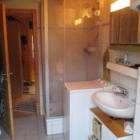 """Im Bad finden Sie alles zur Körperpflege, sowie eine Waschmaschine - Bild 7: Reif für die Insel Usedom?... dann in´s neue Blockhaus """"Kajüte""""!"""