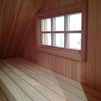 Von der Saunabank mit Blick in den Garten ... - Bild 7: 5-Sterne Landhaus unter Reet - 125m/2 + 85 m/2 Fitness-/Wellnessbereich